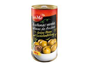 Sol & Mar Grüne Oliven mit Sardellenfüllung