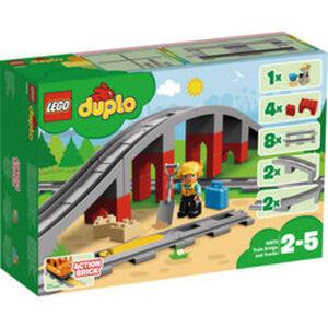 LEGO® DUPLO® Eisenbahnbrücke und Schienen 10872