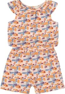 Kinder Jumpsuit LOTTE, Organic Cotton koralle Gr. 116 Mädchen Kinder