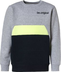 Sweatshirt  silber Gr. 140 Jungen Kinder
