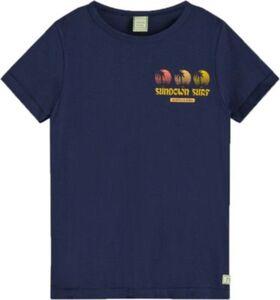 T-Shirt , Organic Cotton blau Gr. 152 Jungen Kinder