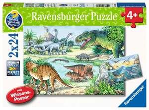 Ravensburger Puzzle WWW Saurier 2x24T