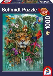 Schmidt Puzzle König des Dschungels 1000T