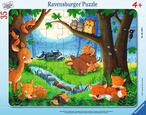Ravensburger Puzzle Wenn Tiere schlafen gehen 35T