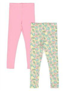 Mädchen Leggings - Florales Muster
