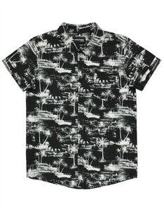 Jungen Hemd mit Palmen-Muster
