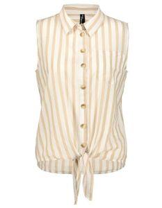 Damen Bluse - Knotendetail