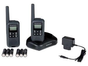 SILVERCREST® PMR Radio, mit VOX-Funktion, LC-Display