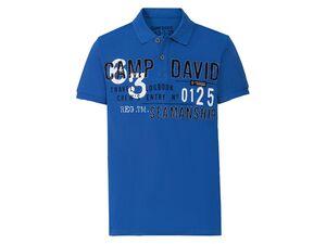 Camp David Poloshirt Herren, leger geschnitten
