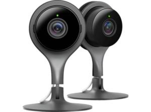 GOOGLE Nest Cam Indoor 2er-Pack, IP Kamera, Auflösung Video: 1080 Pixel
