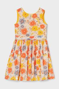 C&A Kleid, Orange, Größe: 104