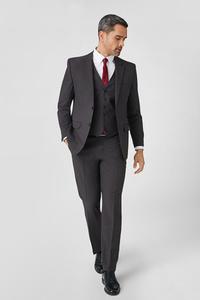 C&A Anzug mit Zweithose-Regular Fit-4 teilig, Grau, Größe: 25