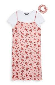 3-teiliges Jersey-Trägerkleid (Teeny Girls)