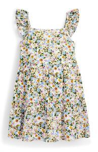 Stufenkleid mit Blumenmuster (kleine Mädchen)