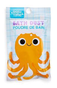 """Bath Time"" Badepuder mit Oktopus-Print"