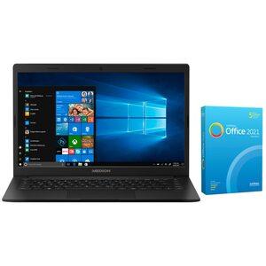 MEDION AKOYA® E4251, Intel® Pentium® Silver N5030, Windows10Home, 35,6 cm (14'') FHD Display, 256 GB SSD, 8 GB RAM, Notebook, inkl. SoftMaker Office Standard 2021