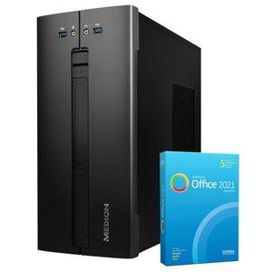 MEDION AKOYA® E62013, Intel® Core™ i5-10400, Windows10Home, 512 GB SSD, 8 GB RAM, Multimedia PC, inkl. SoftMaker Office Standard 2021