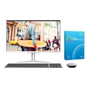 MEDION AKOYA® E27401, Intel® Core™ i3-1005G1, Windows10Home, 68,6 cm (27'') FHD Display, 512 GB SSD, 8 GB RAM, Aluminium-Design, All-in-One PC, inkl. SoftMaker Office Standard 2021