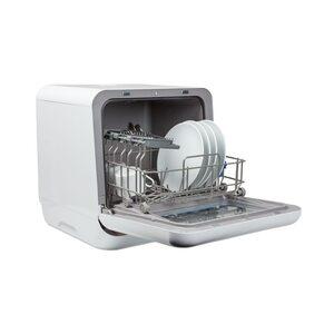 MEDION Mini-Geschirrspüler MD 37217, für 2 Gedecke, 6 Reinigungsprogramme, Startzeitvorwahl