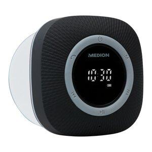 MEDION LIFE® P66096 Duschradio, LED-Display, UKW-Radio, IPX6 Schutz, Bluetooth® 5.0, 30 W Ausgangsleistung