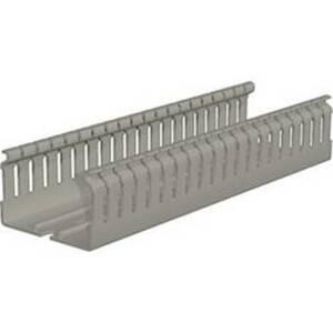 Weidmüller 2589850000 Verdrahtungskanal (L x B x H) 2 m x 60 mm x 60 mm 12 St. Grau