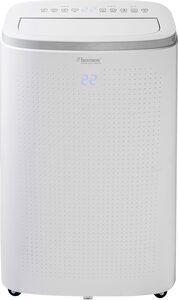 bestron Klimagerät mobiles Gerät, für Räume bis 55m², Klimagerät mit App + Sprachsteuerung via WiFi, Touch-Bedienfeld und Fernbedienung, Kühlleistung 4,1 kW mit umweltfreundlichen Kühlmittel,