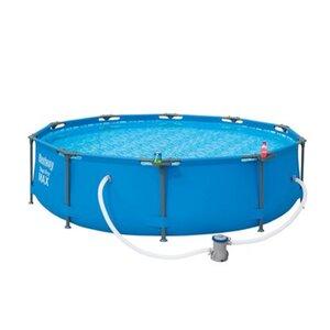 Bestway Steel Pro Max Frame Pool-Set rund 305 cm x 76 cm