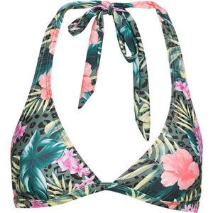BRUNOTTI Bikini-Oberteil, floral, breite Träger, Neckholder, für Damen