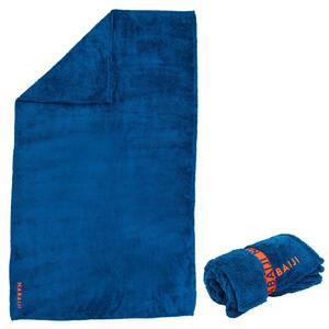 Mikrofaser-Badetuch extra weich Größe L 80×130cm blau