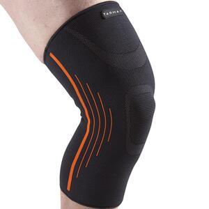 Kniebandage Soft 300 Kompression links/rechts Erwachsene schwarz