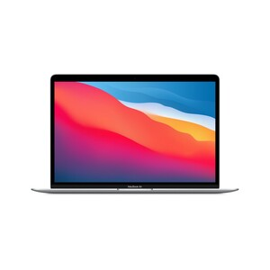 Apple MacBook Air silber (2020, Touch ID True Tone, M1, 8 GB RAM, 256 GB SSD, 7 Core Grafik, MGN93D/A)