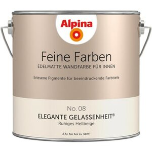 Alpina Feine Farben No. 8 Elegante Gelassenheit edelmatt 2,5 Liter
