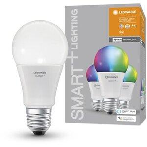 Ledvance Smart+ WiFi LED-Lampe Kolbenform E27/9W 806lm Farbwechsel 3er-Pack