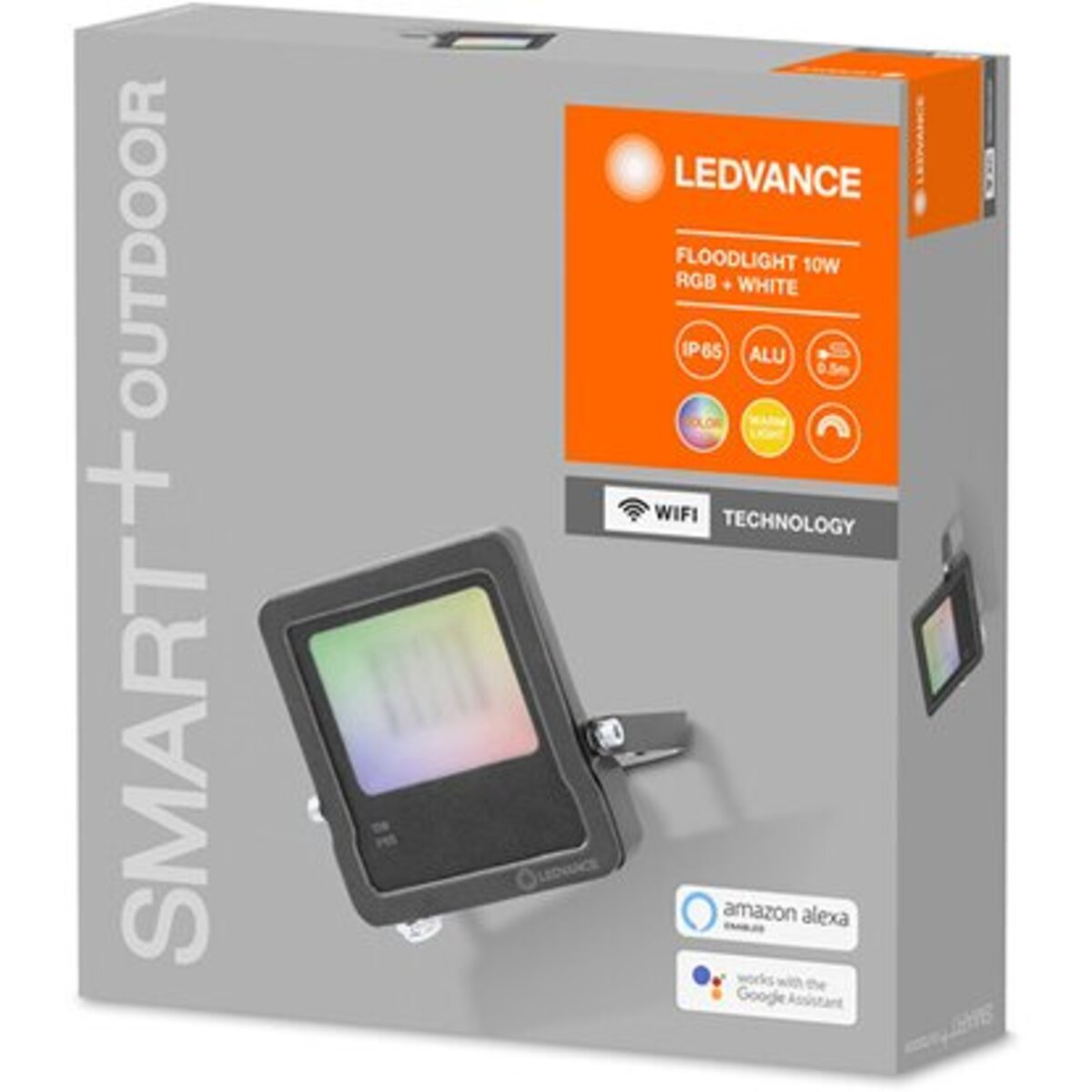 Bild 2 von Ledvance Smart+ WiFi LED-Fluter 10W Farbwechsel 16 Mio. Farben