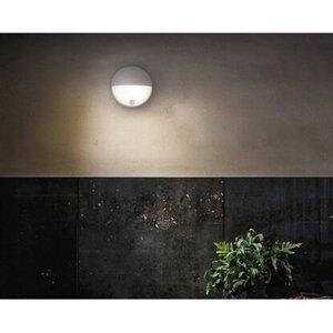 Philips LED-Außenwandleuchte mit Bewegungsmelder Capricorn Hellgrau EEK: A-A++