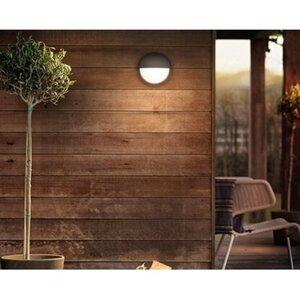 Philips myGarden LED-Außenwandleuchte Capricorn Anthrazit EEK: A-A++