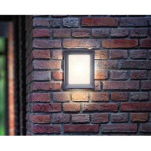 Philips myGarden LED-Außenwandleuchte Karp Anthrazit EEK: A-A++