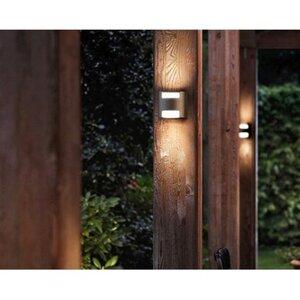 Philips myGarden LED-Außenwandleuchte Grass Anthrazit EEK: A-A++