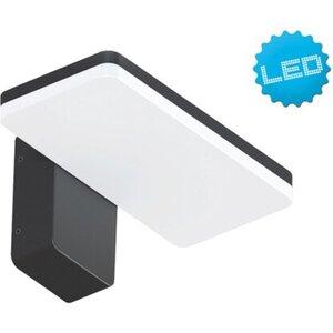 Näve LED-Wand-Außenleuchte Clair Schwarz 70 Stück EEK: A+