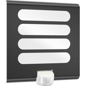 Steinel LED-Sensorleuchte L 224 Anthrazit EEK: A-A++