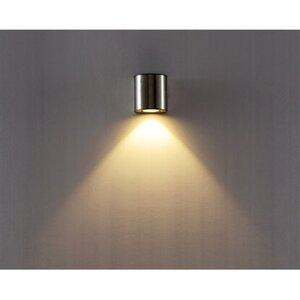 Lutec LED-Außenwandleuchte Downlight Ilumi Edelstahl EEK: A+