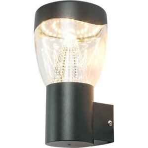 Globo LED-Außenleuchte Delta Anthrazit 23 cm x 12 cm EEK: A+
