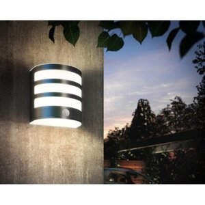 LED-IR-Außenwandleuchte mit Bewegungsmelder Calgary EEK: A++