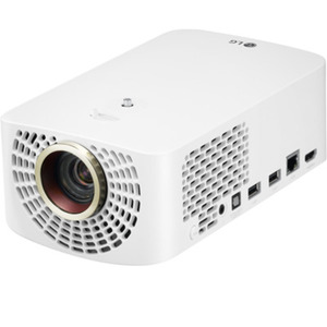 LG HF60LS - Largo 2.0 LED-Beamer - Full HD, 1400 ANSI Lumen, 150.000:1 Kontrast, TruMotion, Bluetooth, HDMI, USB