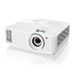 Optoma UHD42 4K Beamer - UHD, 3.400 ANSI Lumen, 500.000:1 Kontrast, Lens Shift, 1.3x Zoom, 2x HDMI