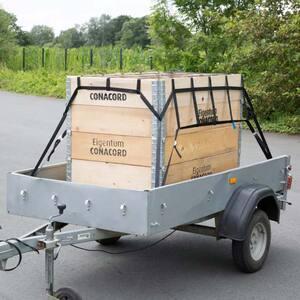 Conacord Gurt-Netz zur sicheren und schnellen Ladungssicherung, 150 x 150 cm