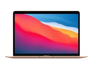 """Apple MacBook Air Retina 13"""" (2020), M1 8-Core CPU, 16 GB RAM, 256 GB SSD, gold"""