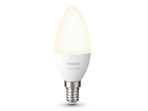 Philips Hue White, E14, Glühlampe für Hue Lichtsystem, Bluetooth