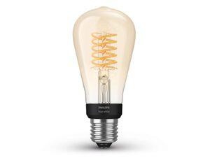 Philips Hue Edison, E27 Vintage Glühbirne, für Hue Lichtsystem, Bluetooth