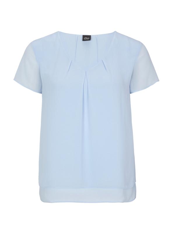 Damen Bluse mit Layering-Effekt